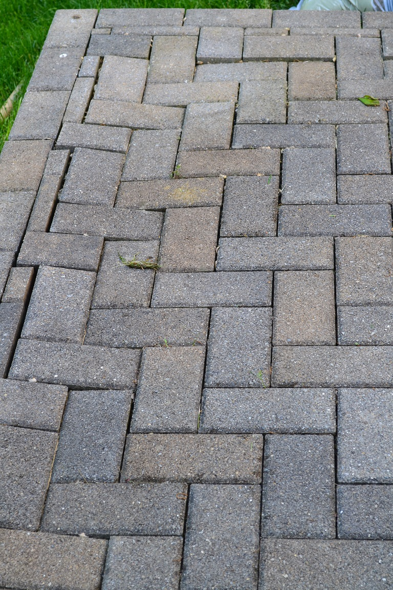 ... How To Repair Your Patio Paver AR Before (2)